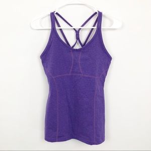 Athleta Empowerment Tank Strappy Back Workout